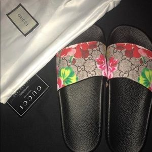 Brand new Gucci slides !
